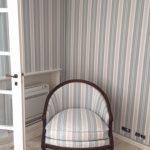 fauteuil + tenture