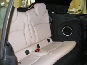 sellerie cuir automobile