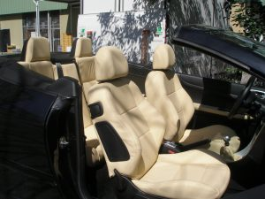 sellerie cuir automobile, cabriolet