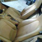 sellerie cuir automobile, véhicule de collection