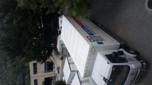 bâche toit