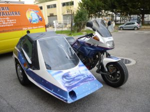 sellerie moto, capote sidecar