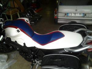 sellerie moto, selle moto, protection réservoir